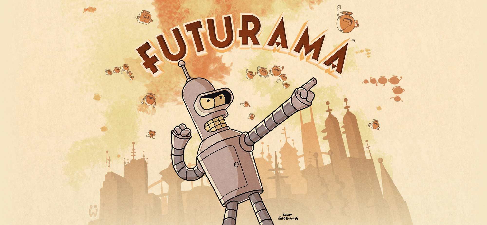 Futurama Mobile Game iPhone iPad