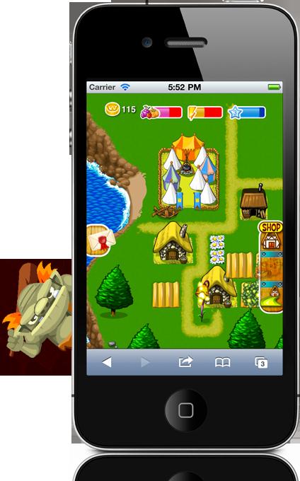 mobile social games